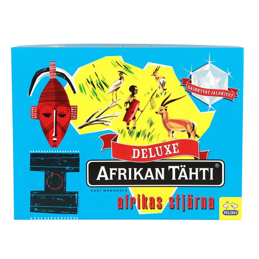 Star of Africa (Afrikan Tahti) Board Game Deluxe Edition