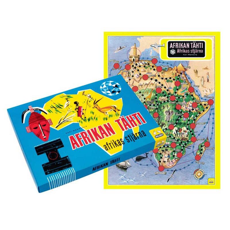 Star of Africa (Afrikan Tahti) Board Game