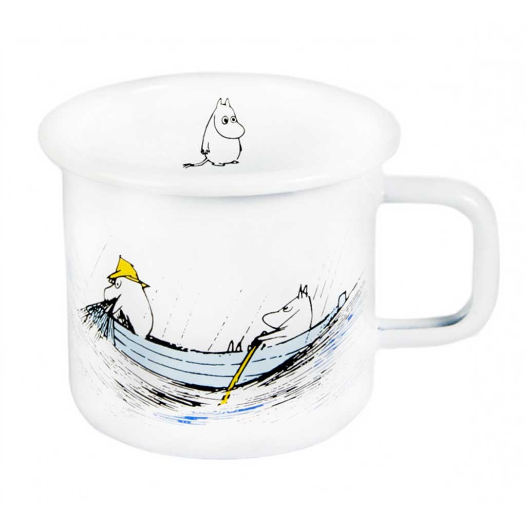Originals Gone Fishing Moomin Enamel Mug 3,7dl