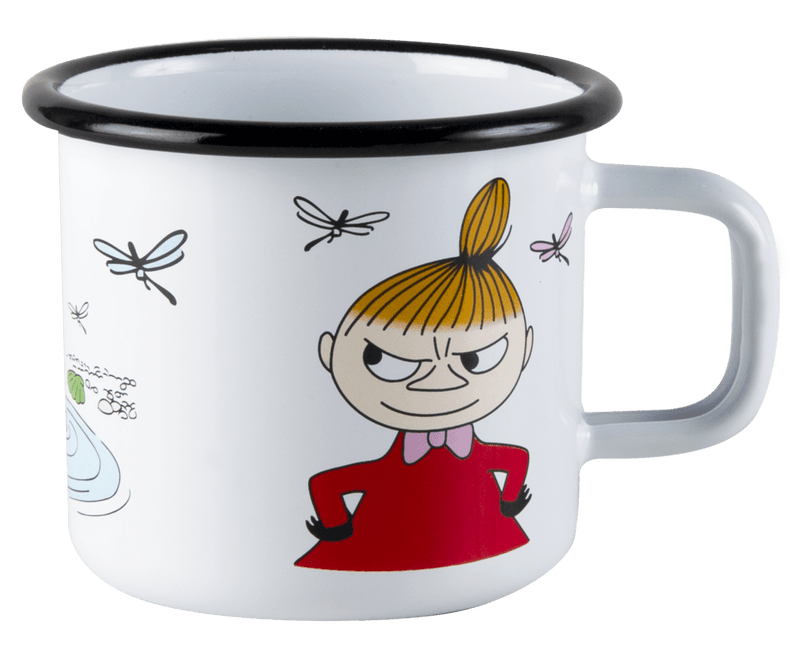 Little My Moomin Enamel Mug 370ML by Muurla
