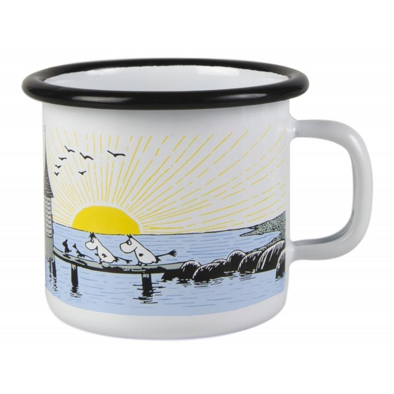 Mellow Wind Moomin Enamel Mug 2,5DL by Muurla