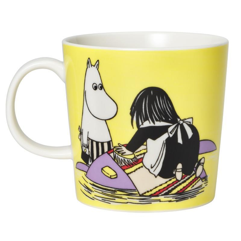 Misabel Yellow Moomin Mug by Arabia