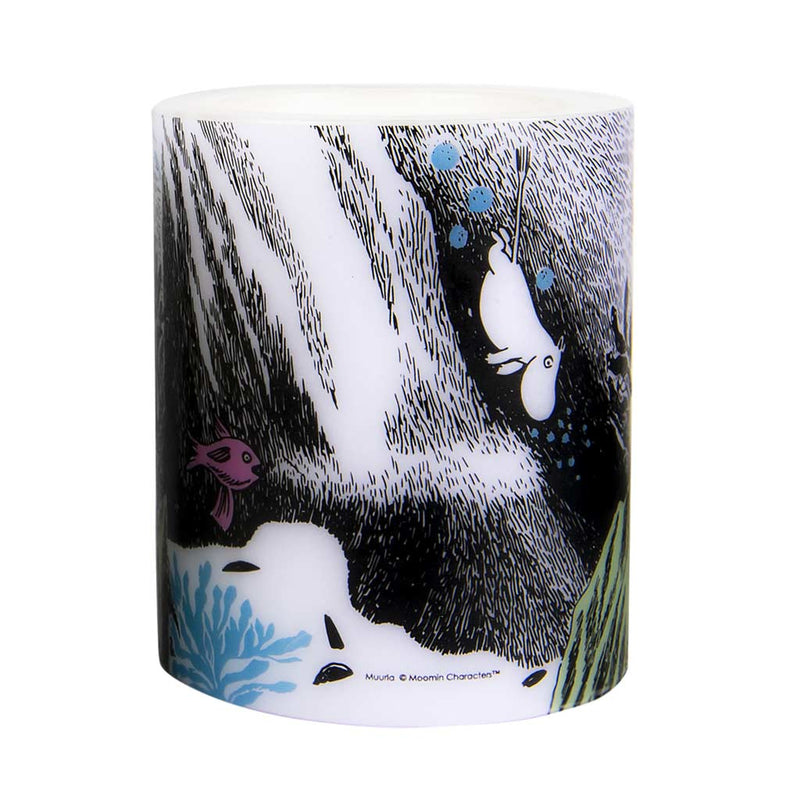 Moomin Candle The Dive 12cm