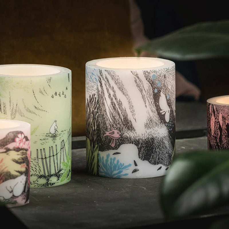 Moomin Candle Nap at the Meadow 8cm