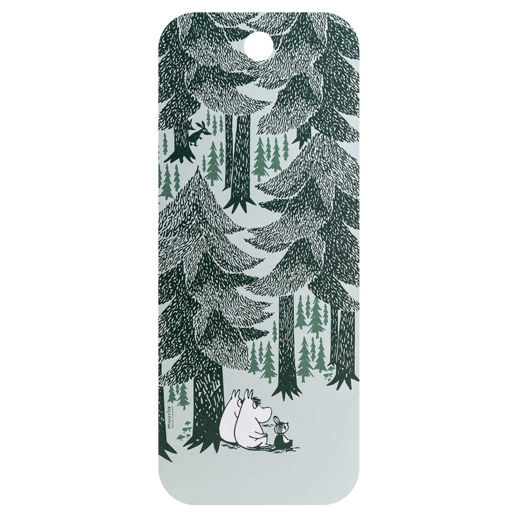 Moomin Chop & Serve Board 18X44 Forest