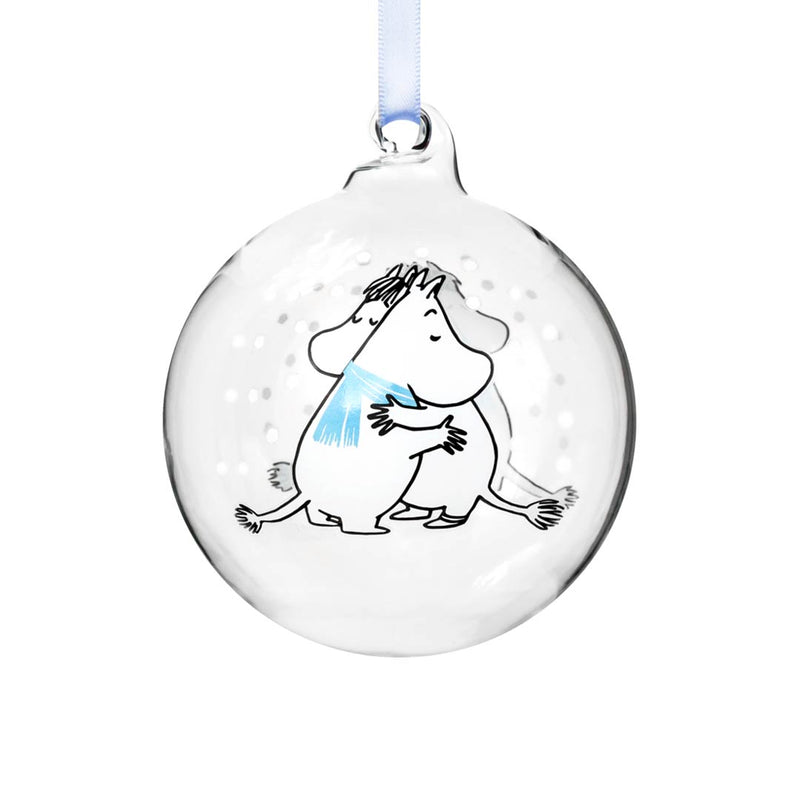 Moomin Christmas Bauble Cuddle