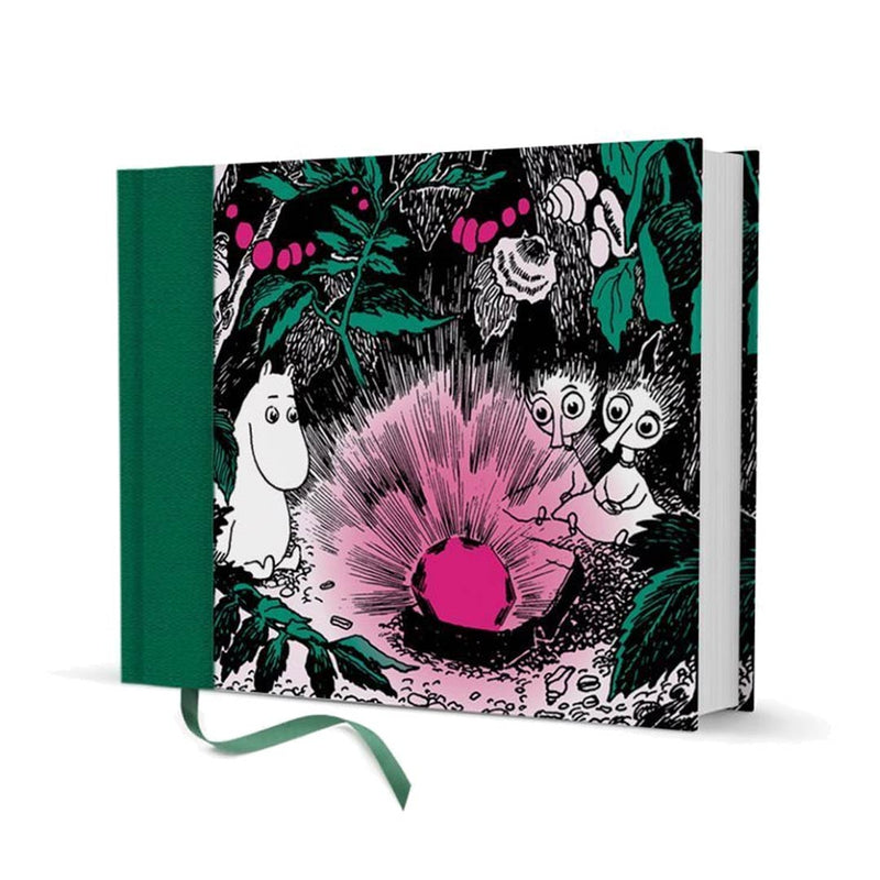 Moomin A5 Hardcover Notebook Ruby