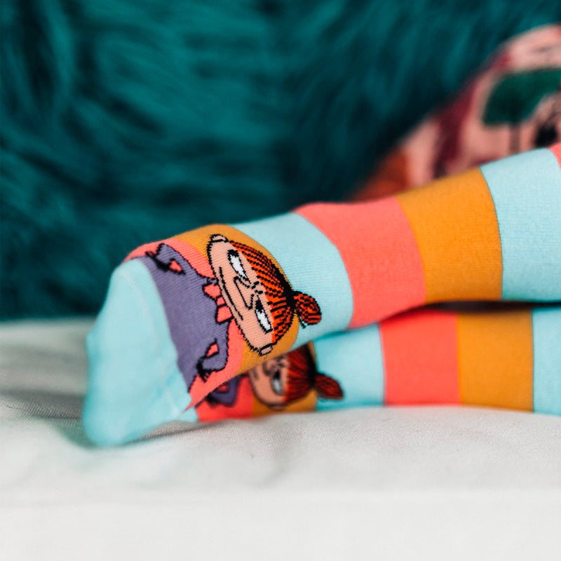 Moomin Socks Little My Coral 2-pack