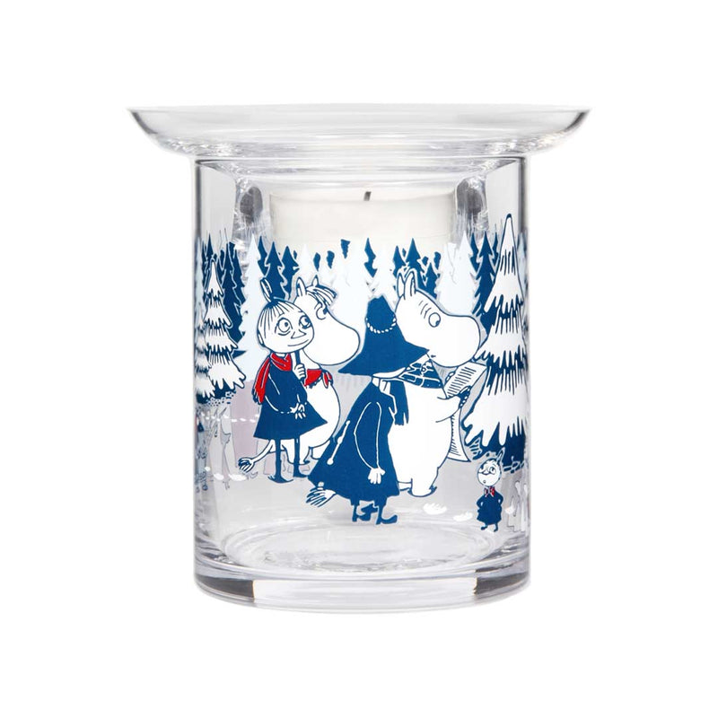 Moomin Tea light Holder Winter Forest 10cm