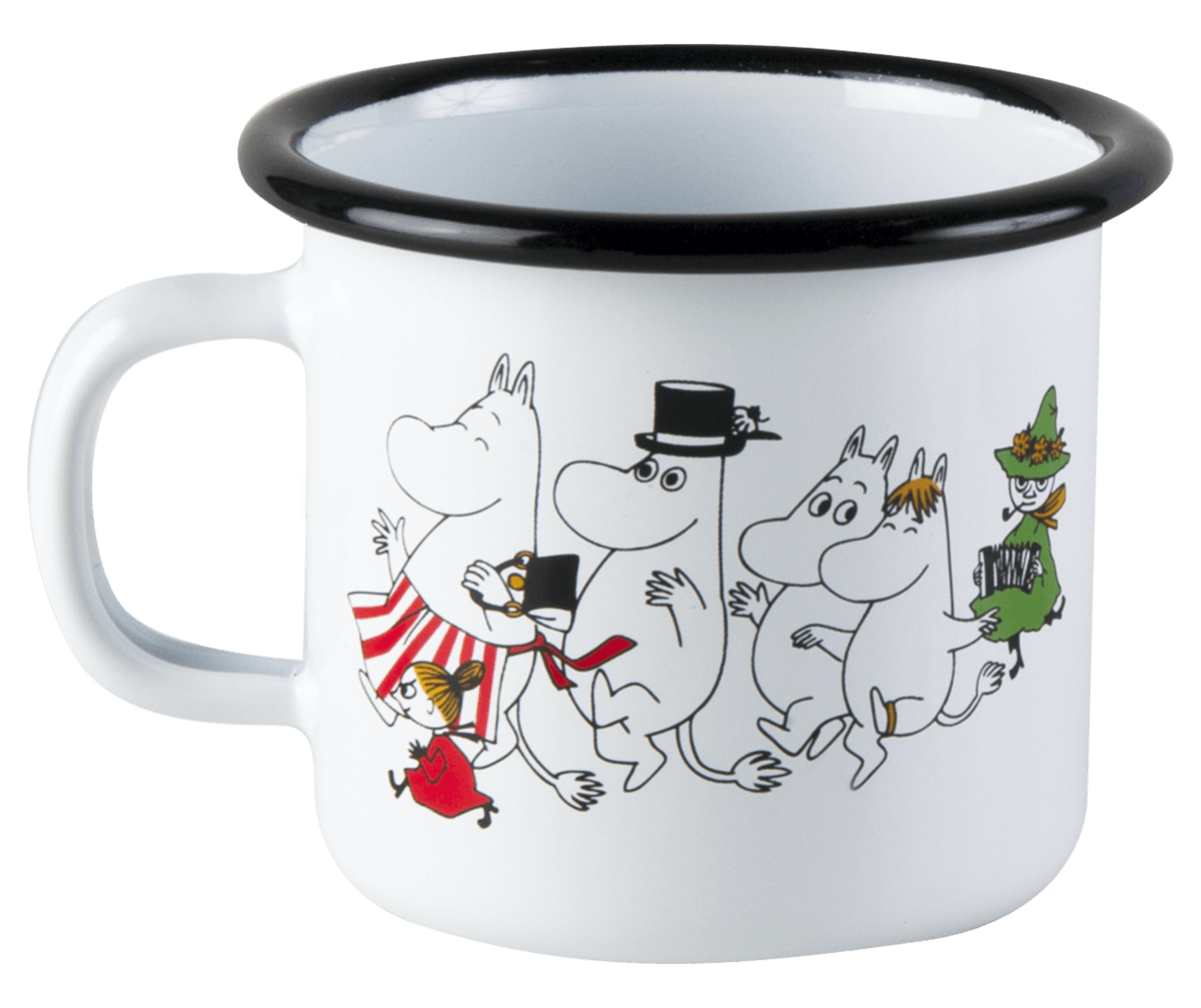 Colors Moomin Valley Moomin Enamel Mug 2,5dl
