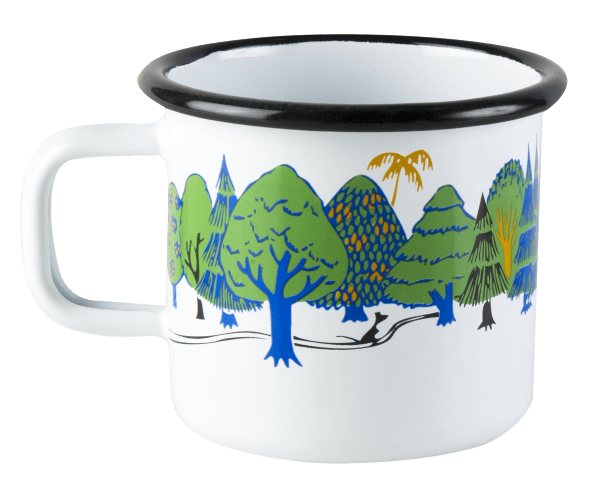 Colors Moomin Valley Moomin Enamel Mug 3,7dl