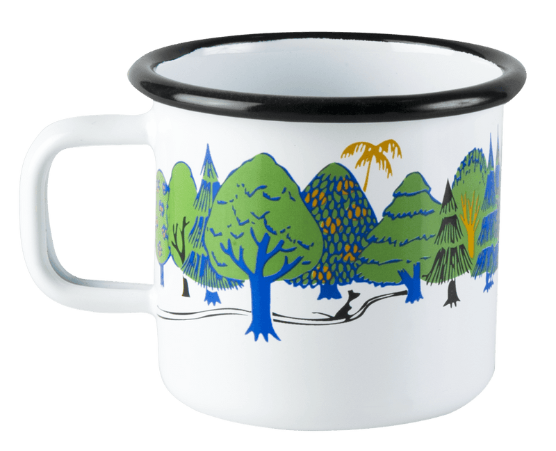 MOOMIN VALLEY Moomin Enamel Mug 370ML by Muurla