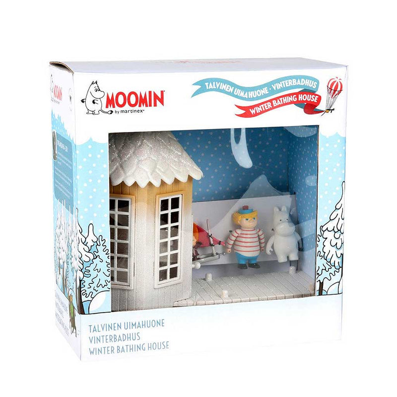Moomin Winter Bathing House Toy Set