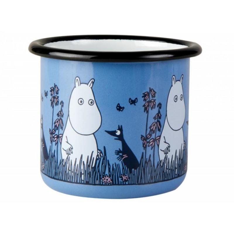 Moomintroll Friends Moomin Enamel Mug 250ML by Muurla
