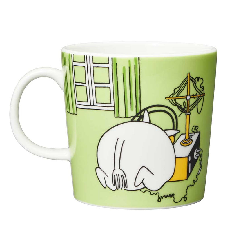 Moomintroll Green Moomin Mug by Arabia