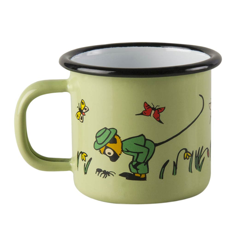 Mr Nilsson Pippi's Monkey Enamel Mug 1,5dl