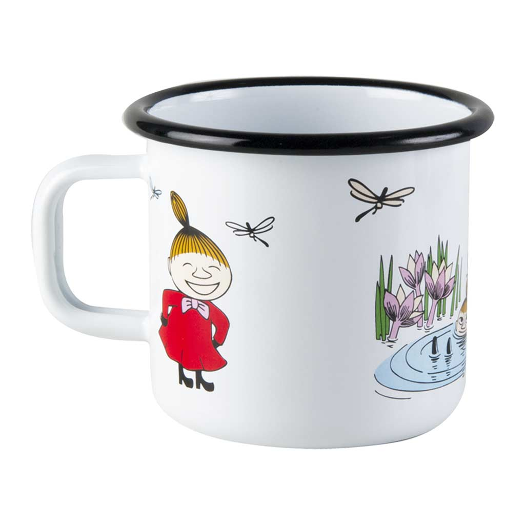 Colors Little My Moomin Enamel Mug 3,7dl