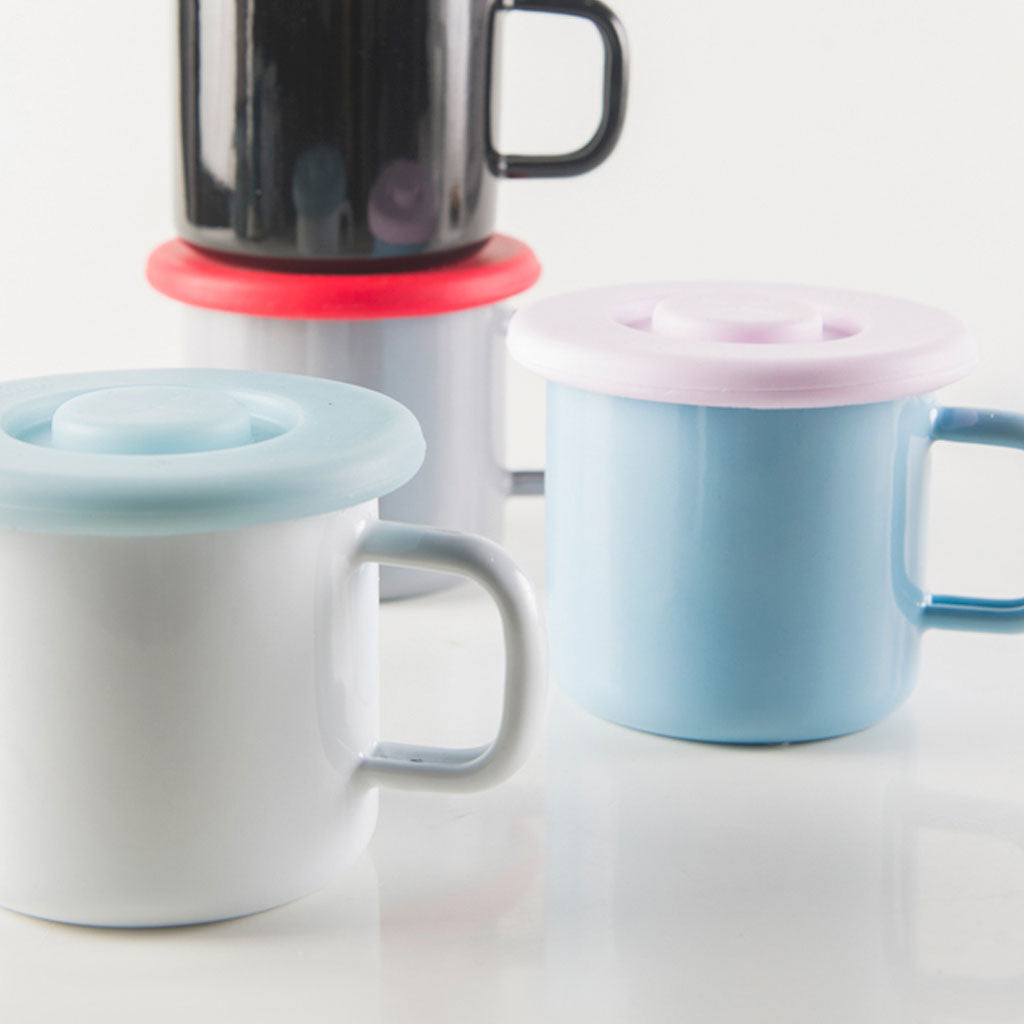 Silicone Lid for 3,7dl Enamel Mugs