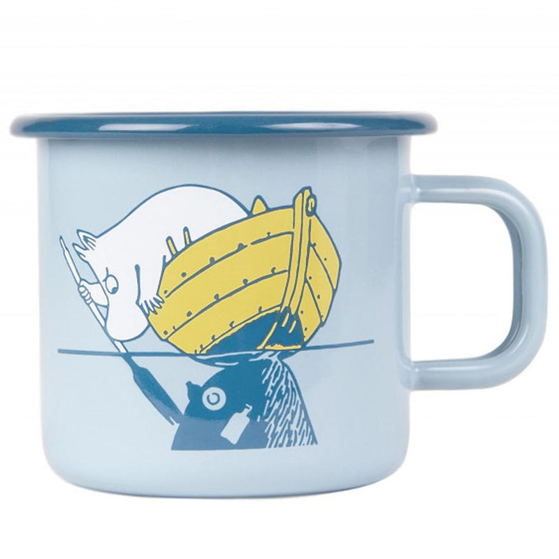 OurSea Moomin Enamel Mug 3,7DL by Muurla
