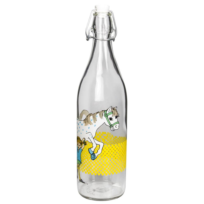 Pippi Longstocking Glass Bottle muurla