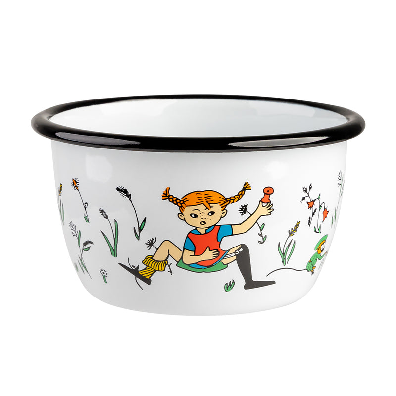 Pippi longstocking bowl enamel