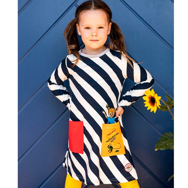 Pippi's Stipes Dress