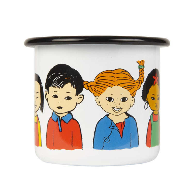 Pippi of Today Enamel Campaign Mug 2,5dl