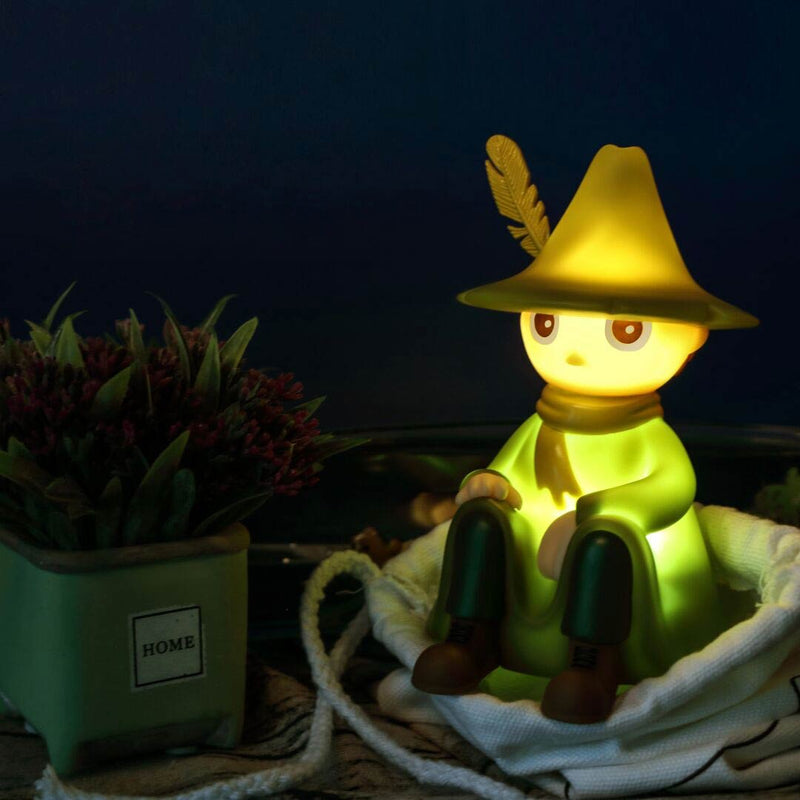 Snufkin moomin night light lamp 13cm