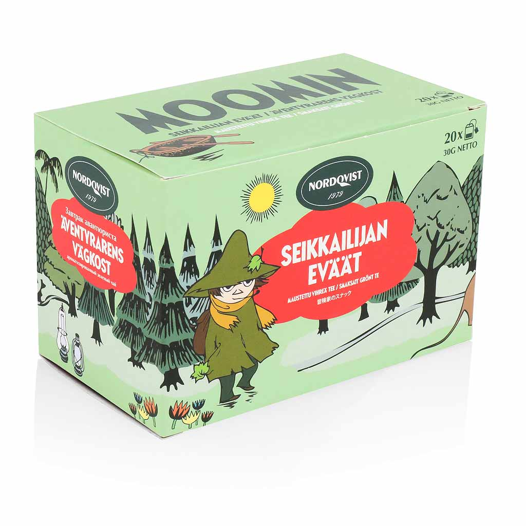 Snufkin Adventurer's Moomin Tea by Nordqvist