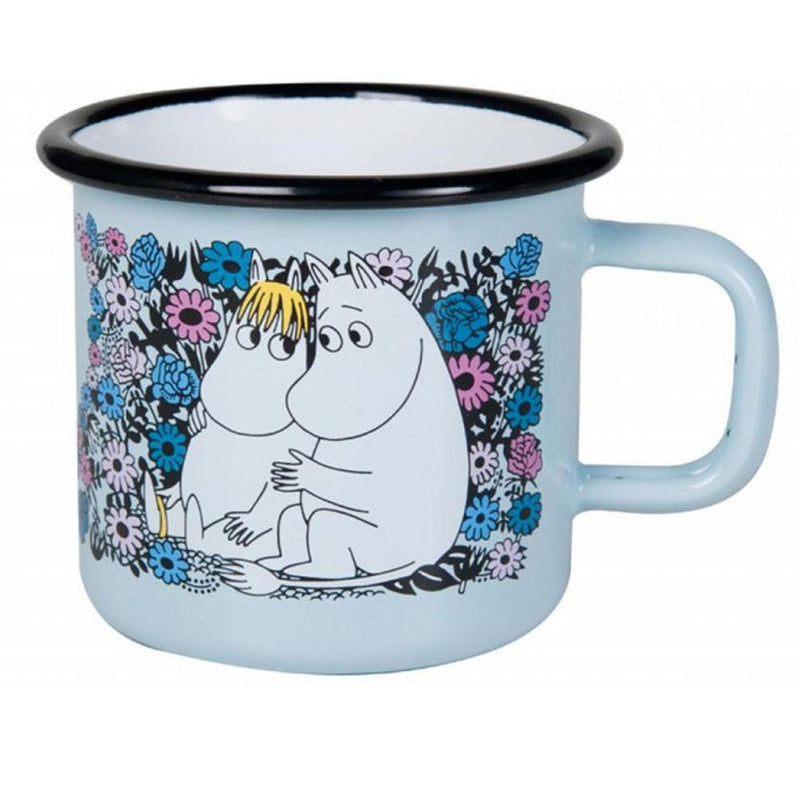 Sweethearts Moomin Enamel Mug 370ML by Muurla