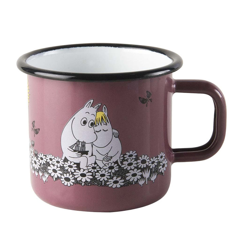 Together Forever Moomin Enamel Mug 370ML by Muurla