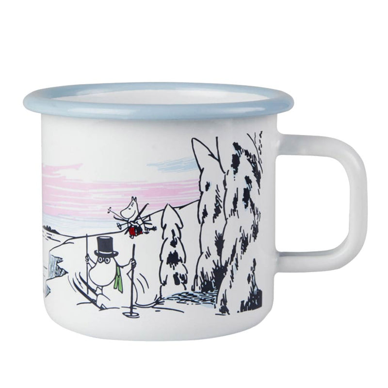 Winter Time Moomin Enamel Mug 3,7dl