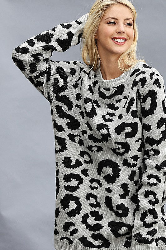 Show Me Your Spots sweater-2 colors!