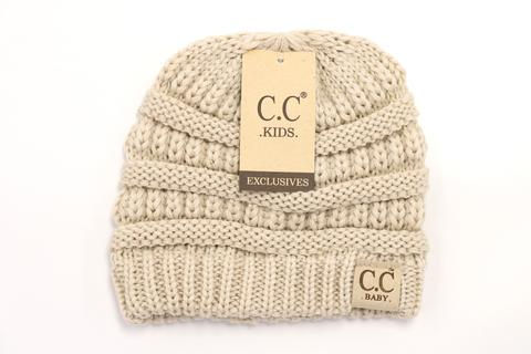 BABY Solid CC Beanie