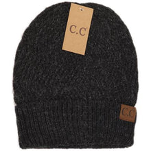 Load image into Gallery viewer, Chevron Knit Cuff Beanie