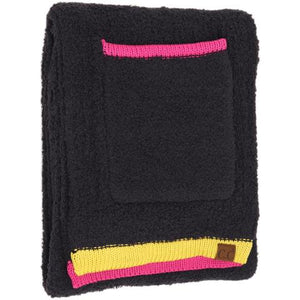 Color Block Knitted Sherpa Scarf