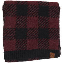 Load image into Gallery viewer, BUFFALO PRINT JACQUARD KNIT SCARF