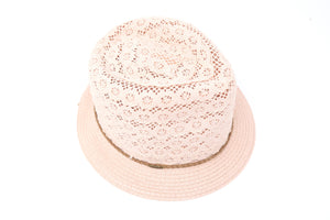 Children's Lace Fedora