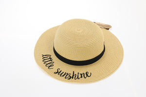 Kids Hello Sunshine Sun Hat