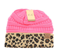 Load image into Gallery viewer, Leopard Print CC Beanie