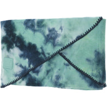 Load image into Gallery viewer, TIE DYE SCARF WITH RUBBER PATCH