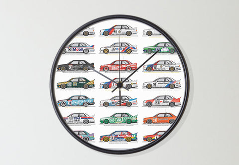 M3 Touring Car Wall Clock