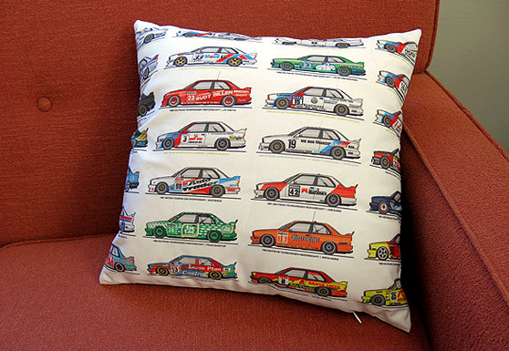 M3 Touring Car Pillow