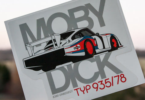 Moby Dick Decal