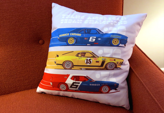 Trans Am Champs Pillow