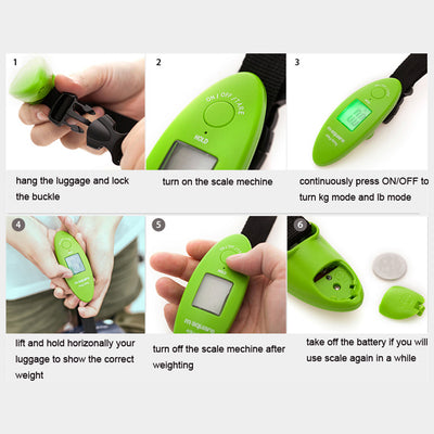 Portable Weighing Electronic Luggage Scale