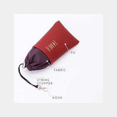 Elegant Glasses Storage Pouch