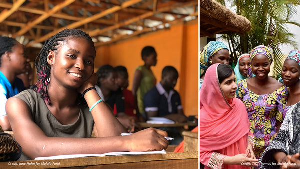 Au Xchange partners with Malala Fund to advance girls' education