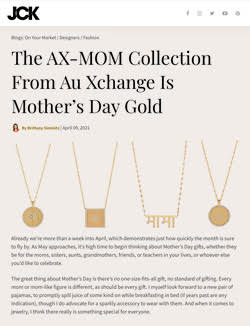 Au Xchange pays tribute to mothers and celebrates cultural diversity with AX-MOM collection