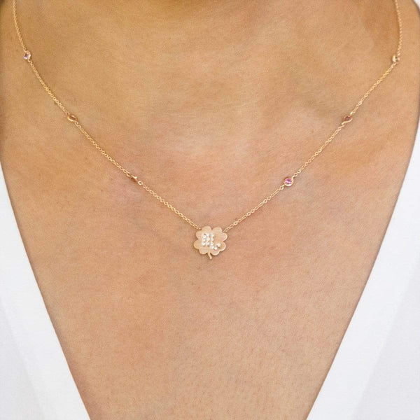 The Scorpio Zodiac Clover Necklace